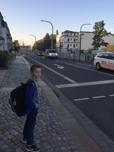 We cross another street